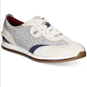 Sperry tidal trainer ivory sneaker